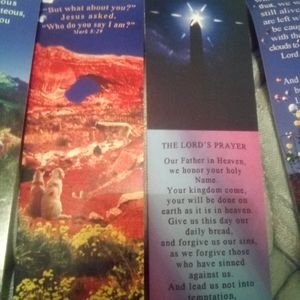 4 New Christian book marks